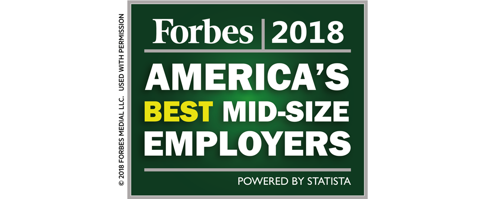 The Rawlings Group Recognized by Forbes Magazine as one of America's Best Mid-size Employers of 2018